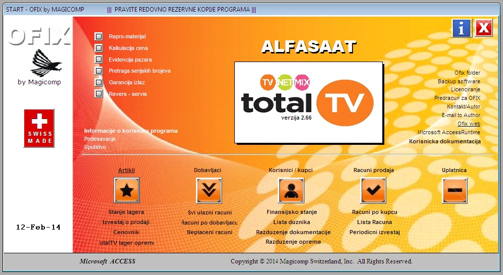 TOTALTV SOFTWARE